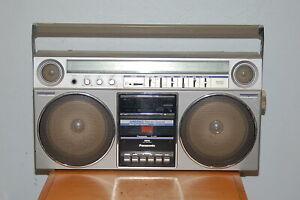 PANASONIC RX-5085 BOOMBOX RADIO Metal Tape Capability Working