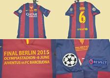 fc barcelona jersey 2015 champions league final model xavi shirt