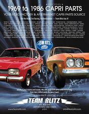 Ford Capri New Set of Side Trims Mk1 Rear Parcel Shelf