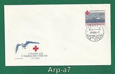 (Fc1094) Czechoslovakia Fdc - First Day Cover 1964 Iv congress Red Cross