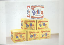 "Andy Warhol ""Brillo Boxes"" Pop Art 35mm Slide"