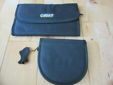TWO BLACK CD CARRY CASE HOLDS 24 AND 12 ONE IS VELCRO ONE IS ZIPPER