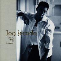 Jon Secada Heart, soul & a voice (1994) [CD]