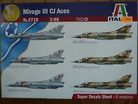 Maquette avion ITALERI 1/48 Ref 2718 Mirage III CJ