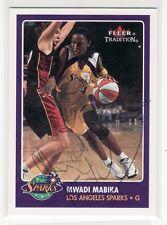 Mwadi Mabika Los Angeles Sparks Autographed Basketball Card