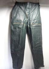 108 Vintage 60th Stiefelhose Kradmelder Motorradhose Breeches dunkelgrün Gr. 48