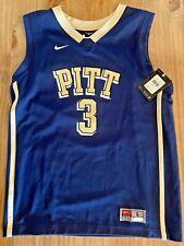 Nike Youth Boys Pittsburgh Pitt 3 Panthers Basketball Jersey Large - FREE SHIP