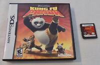 Nintendo DS Game Cartridge Kung Fu Panda with Case