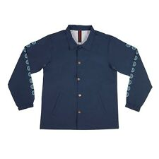 Independent Trucks Quatro Coach Windbreaker Jacket Navy Xxl