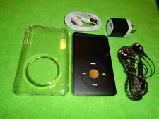Apple iPod classic 6th Gen Black and Gold (80 GB) + extras! Great Condition
