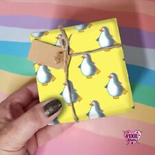 Penguin Gift Wrap, Wrapping Paper