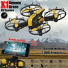 X1 Mini Drone RC VR FPV HD Wifi Camera Quadcopter 3D Flips Altitude Hold Toys