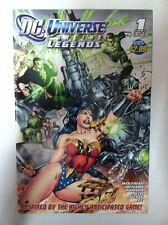 DC UNIVERSE ONLINE LEGENDS #1 (2011) GREEN LANTERN WONDER WOMAN