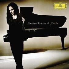 """HELENE GRIMAUD """"BACH"""" CD NEW+"""