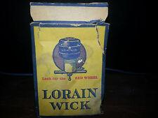 LORAIN OIL STOVE WICK~ by AMERICAN STOVE COMPANY