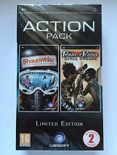 NEW SEALED PRINCE OF PERSIA RIVAL SWORDS + SHAUN WHITE SNOWBOARDING - SONY PSP