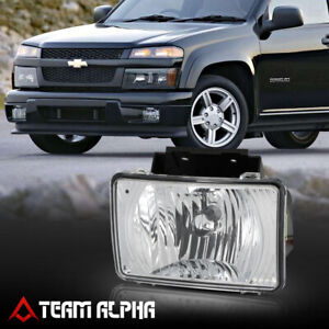 Fits 2004-2012 Chevy/GMC Colorado/Canyon [LH/RH] OE Replacement Bumper Fog Light