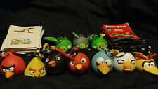 Angry Birds Backpack Hangers Keychains Rovio Just Toys Matilda Bubble Bomb Pig