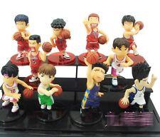 Slam Dunk Figure Set 10 Basketball Pvc Sakuragi Hanamichi Collection Inoue Anime
