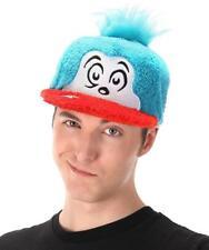 Thing 1 Fuzzy Cap Hat Dr Seuss Fancy Dress up Halloween Costume Accessory d0efecf168a0