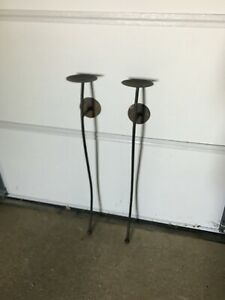 Bronze Wall Sconces for Pillar Candles