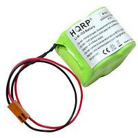 HQRP 6V Battery for Fanuc 18-T Amplifier ALPHA / BETA iSV, BETA iSVSP CNC PLC