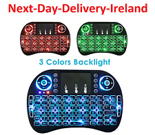 i8 2.4GHz USB Wireless Backlight Keyboard Keypad Touchpad Android & Windows TV