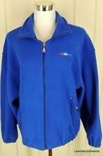 Sportsmaster Club Collection Mens M Royal Blue MySap.com LOGO Zip Up Jacket
