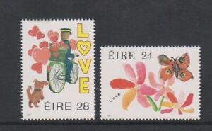 Ireland - 1987, Greetings Stamps set - MNH - SG 656/7