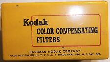 Box of 7 Kodak Color Compensating Filters Vintage