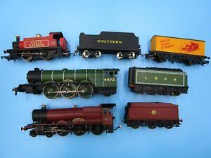 Huge LOT HO Trains Hornby Locomotive Sets 4472 5972 012 Untested As Is 1/87
