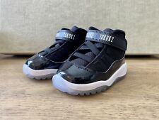 Jordan 11 Retro Space Jam Infant 5c Black / Concord Baby Shoes Sneakers