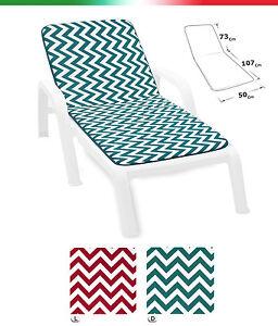 Cushion Sdeckchair Sun Bed Cover Sitting Pool Sea Beach Garden Universal