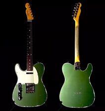 LEFTY MJT Wildwood Lake Placid Green Guitar Double Bound Nitro Guitar Left RELIC