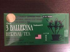 3 Ballerina Extra Strength Herbal Dieter's Tea 18-Bags