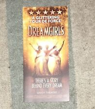 Dreamgirls (gatefold promotional Flyer) Savoy Theatre London West End