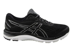 Asics Gel-Cumulus 20 Black Lace Up Womens Running Trainers 1012A008 001