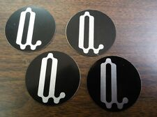 """Paradyme Hubcaps Wire Wheels Center Cap Stickers 2.18"""""""