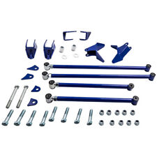 Triangulated 4 Link Kit Suspension Bars For Chevy S10 Ls Extended 1994 2004