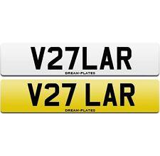 Range Rover VELAR number plate V27 LAR for R-Dynamic Velar First Edition