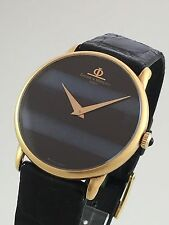 •Mens Baume Mercier 18K Yellow Gold In Top Mint  Condition  Watch Beauty•