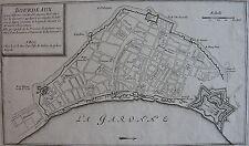 BOURDEAUX est une ville très considérable, fameux port situé sur la Garonne... (
