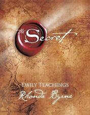 The Secret : Daily Teachings by Rhonda Byrne (2008, Hardcover)
