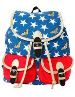 DC Comics Wonder Woman Slouch Buckle Backpack Book Bag