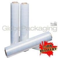 6 ROLLS OF CLEAR PALLET STRETCH SHRINK WRAP 250M OFFER!