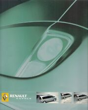 Renault Espace & Grand Espace 2005 UK Market Sales Brochure