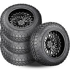 4 Americus Rugged Mt 33x125x18 122q 12 Ply Onoff Road Mud Tires Truck Jeep Suv