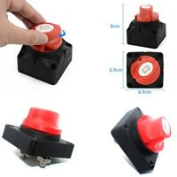 Battery Isolator Switch Cut Off Disconnect Power Kill Current 600A Boat Car RV