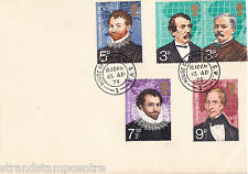 1973 Explorers - House of Commons 'Crested' Envelope - House of Commons CDS
