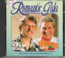 FRANCIS GOYA & DAMIAM LUCA - Romantic Gala CD Album 12TR Holland 1988 (DINO)